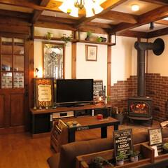 薪ストーブ/木の家/サイエンスホーム 木の家と薪ストーブ・・・素敵な空間