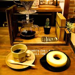 コーヒーのある暮らし/コーヒー/宇都宮/木の家/薪ストーブのある家/薪ストーブ もうすぐ4月なのに外は雪❄️ そんな日は…(4枚目)