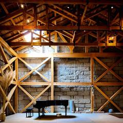ピアノコンサート/三葉虫/アンモナイト/石の美術館/隈研吾/芦野石/... 石の美術館 ピアノコンサートも開かれるそ…(1枚目)