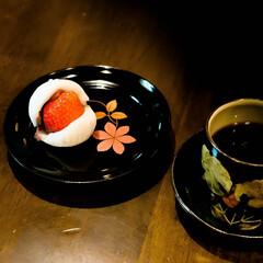 宇都宮/コーヒー/大福/いちご大福/いちご いちご王国栃木のいちご大福 パックリ割れ…