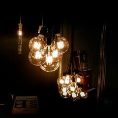 LED電球/照明 幻想的な灯りです。