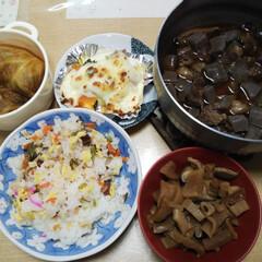 晩御飯/手作り 今日の晩御飯は 作ってくれたものばっかり…