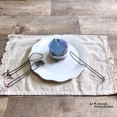 Handmade/手作り雑貨/ワイヤーアート/ワイヤークラフト/ワイヤー雑貨/ハンドメイド ワイヤーで、フォークとスプーンとナイフ作…