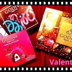 プレゼント/GODIVA好き/valentinesday/バレンタイン2020/金欠/セブン/... Valentineのチョコ♥♪  GOD…