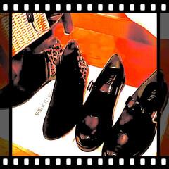 ストラップパンプス/レオパ柄/ブーツ/SALE/百貨店/エナメルパンプス/... 仕事帰りに  SALEに行って来ました♥…