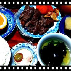 煮物/果物/いよかん皮/肉料理/夕飯/LIMIAごはんクラブ/... 今日はお肉♥♪  ダイエット中なんですが…