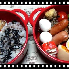 雑穀米弁当/雑穀米/令和元年フォト投稿キャンペーン/おすすめアイテム/令和の一枚/フォロー大歓迎/... 今日のお弁当。  雑穀米です⸜❤︎⸝ …