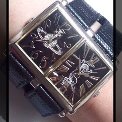 イギリス/時計/ヴィヴィアンウエストウッド/おでかけ/ファッション/おすすめアイテム/... Vivienne Westwoodのダブ…