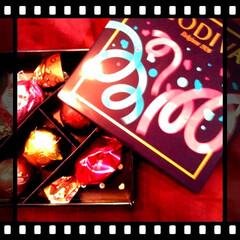 バレンタイン2020/GODIVA/セブン/チョコ/自分用 セブンにて。GODIVAコラボの自分用チ…