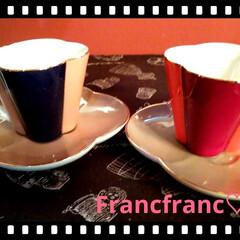 カップ/フランフラン雑貨/キッチン雑貨/雑貨/おすすめアイテム 可愛いカップがお嫁に来ました♡♡  Fr…