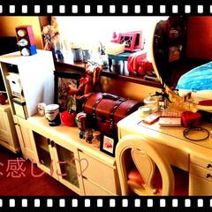 Tokyoインテリア/雑貨/Francfranc/paris/イギリス/アンティーク/... 私のお部屋。  全体はpinkに塗装❣️…(4枚目)