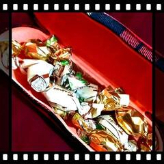 サプライズプレゼント/メガネケース/プレゼント/チョコレート/雑貨/バレンタイン2020 素敵なメガネケースの中には チョコが💞 …