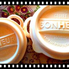 ワッツ/アイボリー/ボヌール/令和元年フォト投稿キャンペーン/おすすめアイテム/令和の一枚/... ボヌールのお弁当箱。  アイボリーも可愛…