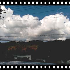 夏の空/風景 夏の空。  信州も暑いです🥰❣️
