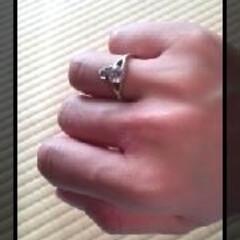 オークション/指輪/ヴィヴィアンウエストウッド 入院前にオークションにて購入したヴィヴィ…(2枚目)