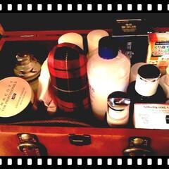 Tokyoインテリア/化粧品収納/トランク/生活の知恵/雑貨/インテリア/... 私のコスメ収納②  Tokyoインテリア…