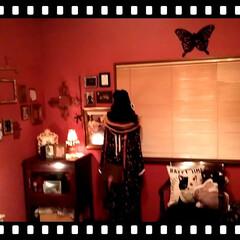 額縁/インテリア/部屋/ピンク/バレンタイン2020/収納/... 私のお部屋はコーナがpinkです〜! 3…