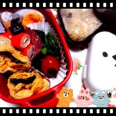 Seria/お弁当/ピック/halloween/暮らし/100均/... かなり久しぶりにお弁当を作りました(*^…(1枚目)