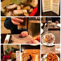 結婚記念/昨日の夕ごはん お晩です☺️ 昨日のお食事の写真アップし…