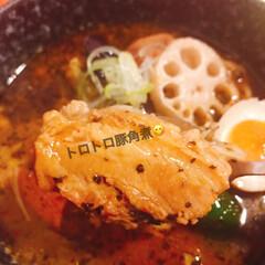 スープカレー吉田商店/スープカレー/キジトラ女子/にゃんこ同好会/おでかけ 義父母にさそ誘われ、お昼ごはんは行きつけ…(2枚目)