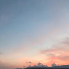 夕焼け空 今日の夕焼け空です。