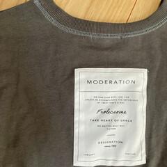 ファッション/Tシャツ/しまむら しまむらでみつけたバックプリントが可愛い…(5枚目)