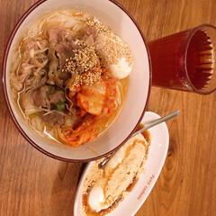 男前豆腐/冷麺/業務スーパー/簡単/時短レシピ/スタミナご飯/... 今日も蒸し暑かったので、麺にしました🍜冷…