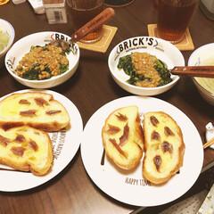 料理 フランスパン×バター×アンチョビ 簡単ア…