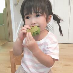 おやつ/抹茶/娘の成長 抹茶が大好きな2歳半の娘👧🌱 アイスもチ…