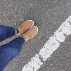 シューズ/ワークマン/ファッション/おすすめアイテム/フォロー大歓迎 アイデアで紹介したワークマン の靴を履い…