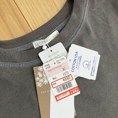 ファッション/Tシャツ/しまむら しまむらでみつけたバックプリントが可愛い…(4枚目)