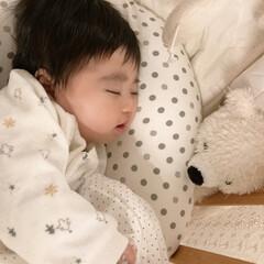 赤ちゃんのいる生活/娘の成長日記 ねんねタイム😪 よく寝る子です😪🌟