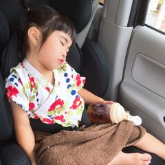 娘の成長/甚平/夏祭り 今日は、保育園で夏祭りがありました☺️💕…
