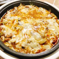 おうちごはん/チーズタッカルビ/グルメ/鍋料理/フード 我が家のチーズタッカルビ♡ 寒くなってき…