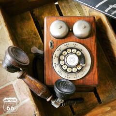 黒電話/電話機/ヴィンテージ/ノスタルジック/アメリカ買付/アメリカンヴィンテージ/... 🇺🇸アメリカ買付 Western Ele…