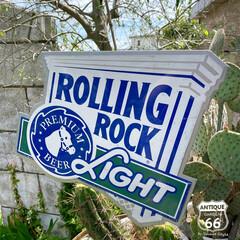 アメリカンインテリア/ビール看板/ビアサイン/ヴィンテージ看板/ヴィンテージサイン/アンティークスタイル/... 🇺🇸アメリカ買付 ROLLING ROC…(1枚目)
