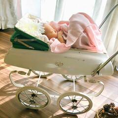 大家族/セルフ撮影/ママカメラ/アンティーク/新生児/ニューボーンフォト/... ☺︎生まれて5日目 のころ とってもポカ…(3枚目)