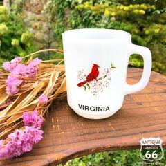 バージニア州/ヴィンテージマグ/アンカーホッキング/ファイヤーキング/アンスタカタログ/アメリカンヴィンテージ/... 🇺🇸アメリカ買付 ファイヤーキングのヴィ…