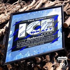 ヴィンテージミラー/パブミラー/アドバタイジング/アンスタ/アンティークスタイル/アメリカンヴィンテージ/... 🇺🇸アメリカ買付 「ICE draft」…(1枚目)