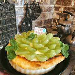 お誕生日ケーキ/バースデーケーキ/お菓子作り/佐藤家ーキ/ハンドメイド/カフェ風 旦那さまのお誕生日。 トラブル続きだった…