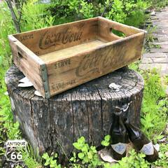 ウッドコンテナ/アメリカ買付/ヴィンテージインテリア/木箱/アメリカンヴィンテージ/アンスタカタログ/... 🇺🇸アメリカ買付 Coca-Cola (…