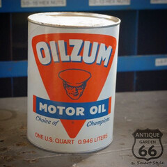 オイルザム/モーターオイル/ガレージ/ジャンクガーデン/世田谷ベース/アメリカ買付/... 🇺🇸アメリカで見つけた、 『OILZUM…