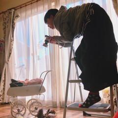 大家族/セルフ撮影/ママカメラ/アンティーク/新生児/ニューボーンフォト/... ☺︎生まれて5日目 のころ とってもポカ…(4枚目)