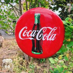 アメリカンインテリア/ボトルデザイン/ヴィンテージサイン/アメリカンヴィンテージ/アンティークスタイル/アンスタ/... 🇺🇸アメリカ買付 おなじみ Coca-C…(1枚目)
