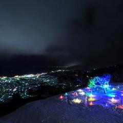 夜景/スキー場/海/町灯り/小樽/イベント/... Otaru-city town ligh…