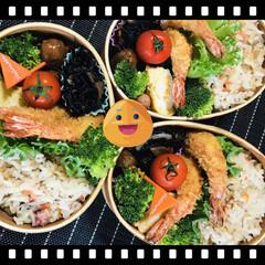 お弁当🍱 タコ飯🐙にしました🥢(1枚目)