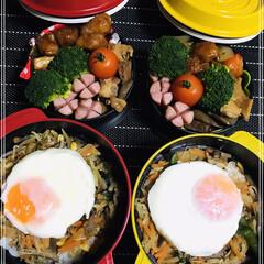 お弁当🍱 おはようございます☀  今日は、土曜日✨…(1枚目)