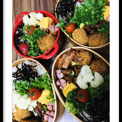お弁当🍱 おはようございます☀  昨日黄色カリフラ…