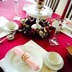 ハンドメイド/インテリア/スワロフスキー/ティアラ/リビング 食卓にキラキラ輝くティアラを 華やかさが…