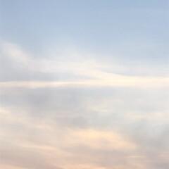 空/フォロー大歓迎/冬/猫/おでかけ/旅行/... 3分後、こんなに空が 色付いて 来ました🤗
